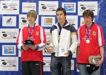 E.Caics - Eiropas junioru čempions