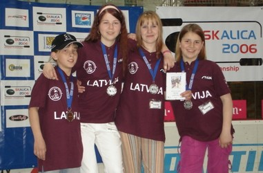 Latvijas dāmu komanda